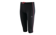 Mizuno Performance collant femme DryLite, 3/4 Tights rose/noir